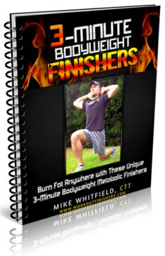 bodyweightfinishers 3 Minute Bodyweight Finisher